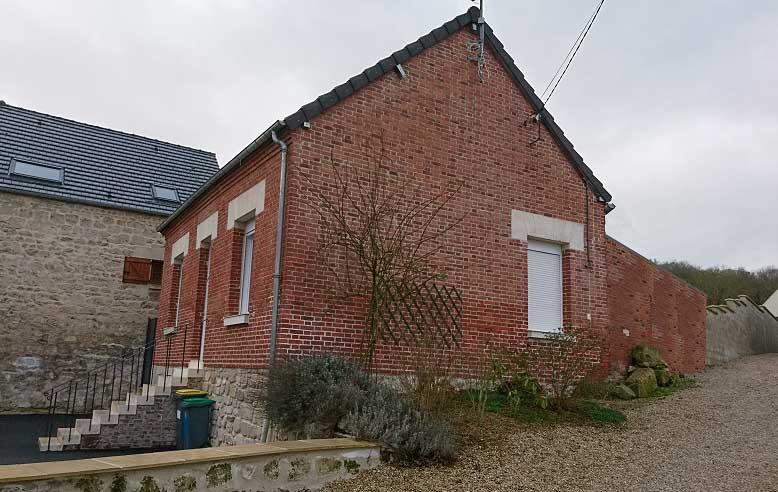 Extension maison à Ciry-Salsogne