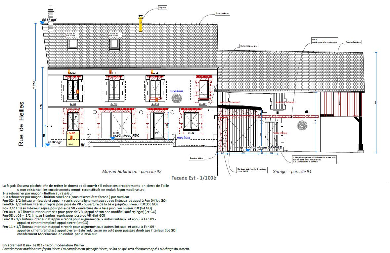 Mouy - Oise - Réhabilitation Maison individuelle