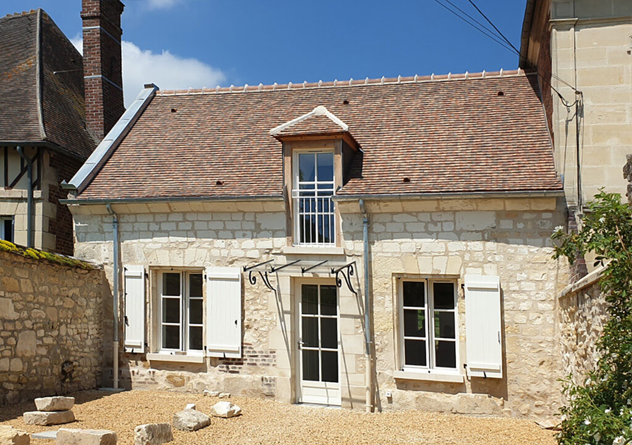 Réhabilitation d'une maison de village